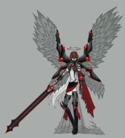 Original: Nyx, Angel of Bane by profabbynucup