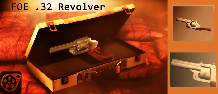 Foe 32 Revolver by LoganD312