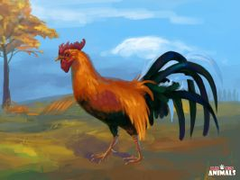 Rooster by LynxMB