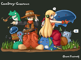 Cave Story: Grasstown by onlineworms