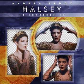 Pack Png - Halsey (Castle Captures) by AndresBedoy