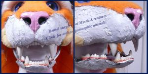 Open wide now - Tiger dental surgery by Mystic-Creatures
