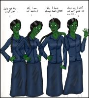 Elphaba explains - Wicked by girlwithquill
