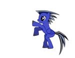 Phoenix Wright pony by wombat1138