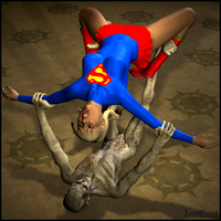 Supergirl Bent Out of Shape by LordSnot