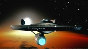 Enterprise over Vulcan by Dave-Daring