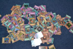 Old Yu-Gi-Oh! Cards by Jaws1996