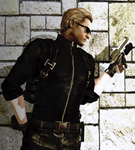 albert wesker - Mision by Horizont8
