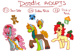 Doodle pony adopts adopts 19 CLOSED by Sarahostervig