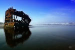Peter Iredale 1 by Alegion