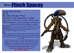 Flinch Spacey The Xenomorph ref sheet by ChristoMan