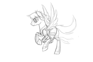 ROUGH Gallop Test (WIP) by JazzyBrony