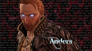 Anders - Vengeance Wallpaper by thesnowtigress