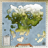 The Continent of Mercavur by Wyldsoul