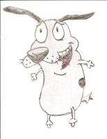 Courage the cowardly dog by AlBeRt0