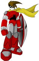 Megaman Legends: Protoman by Giga-Leo