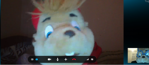 Skyping with Alvin! by RockinChipmunks