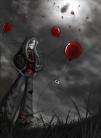 99 Red Balloons by Inverted-Mind-Inc