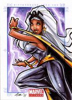 Marvel Universe sketch card 5 by Axebone