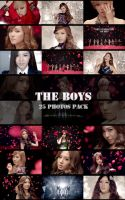 SNSD - The Boys pack by MilkYo