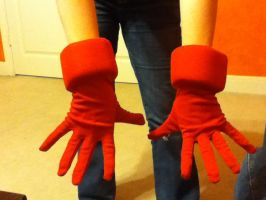 Sora Cosplay Gloves WIP by Hao-SamaFangirl