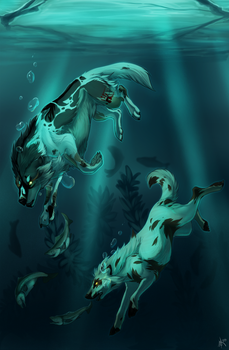 Deep Divers: YTH by Llutra