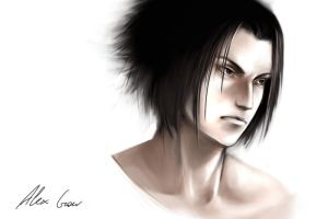 Uchiha Sasuke by Alex-J-Crow