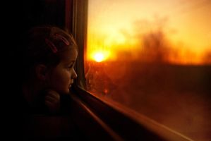 Long way home... by monikha