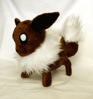 Plush Eevee by geekygamergirl