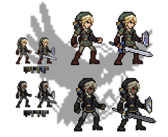 SSBB Link Sprites by XTP597 by XTP597