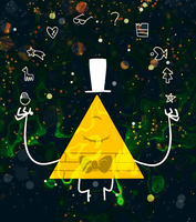 Gravity Falls Challenge day 3: Favourite Creature by PsychoTwi