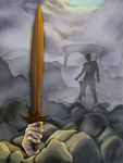 Sword of the Dragon Knight by ClipItsWings
