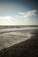 Ogmore By Sea Beach March 2014 by welshrocker