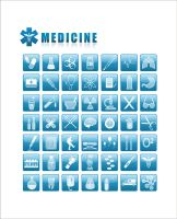 medicine icons by Nikonovic