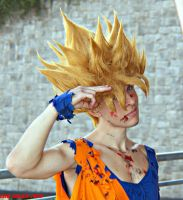 Goku Cosplay Ssj1 by Alexcloudsquall