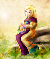 FF IV (Flashback) - The woman from earth by Azurelly