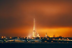 Peter and Paul Fortress by haronsky
