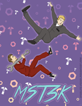 [MST3K] Joel/Mike Poster by starlite-decay