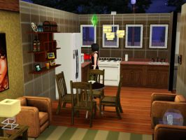 a small living room by k123money