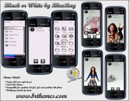 Black or White by Blue_Ray by Brthemes