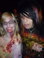 Me and Dahvie by BlackFlameVampire