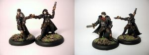 Warmachine: Rutger and Taryn by z95pilot