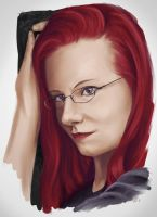 Portrait of Kerstin by Dinoforce