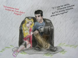 Heroes_Sylar_Claire_Rain by 4everal1