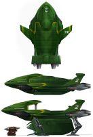 Thunderbird 2 redesign by Harnois75
