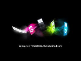 Ipod nano colours by phantoMatt