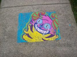 Chalk Monster by FrenziedPudding