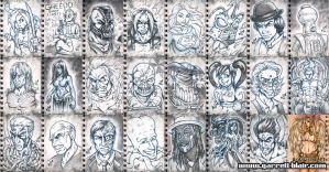 Rough Draft Sketch Cards preview by gb2k