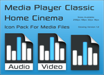 MPC-HC Icon Library - Glowing by davidm147