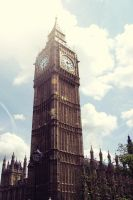 Big Ben in fairy tale mode by cosmicsteve